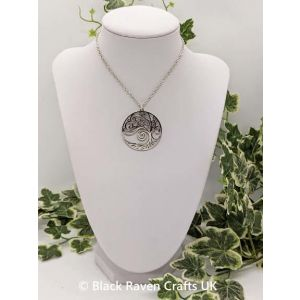 Beautiful Celtic Tree of Life Stainless Steel Pendant Necklace - TOL2