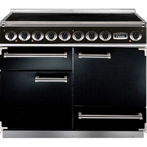 Falcon - 81860 1092 Deluxe Induction Range Cooker in Black & Chrome Trim