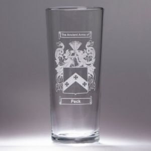 Coat of Arms Beer Glass
