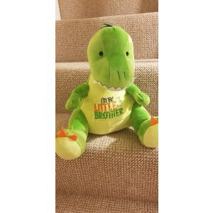 Dino Dinosaur - Personalised With Your Own Embroidered Message, Name or Quote
