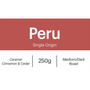 Peru Chanchamayo 250g Whole Beans