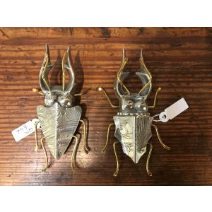 Stag beetles by Quirky Metals