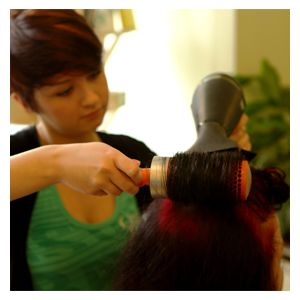 Cut and blow-dry