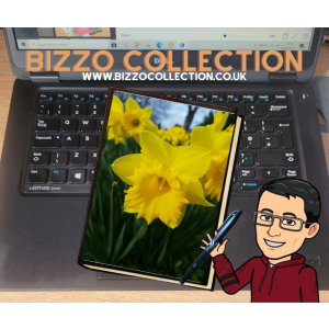 Bizzo Collection A5 Note Book with Host cover design