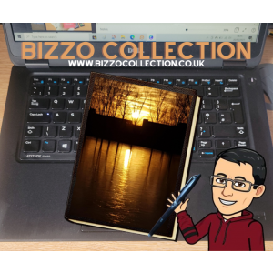 Bizzo Collection A5 Note Book with Sunset cover design