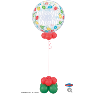 Merry and Bright Bubble Balloon