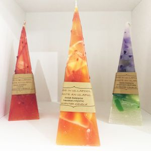 Pyramid Candle - Danielle's Mystic