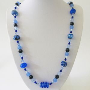 Pantone Blue Necklace