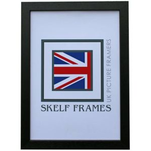 Econ Black Frame - A4 - With Glass
