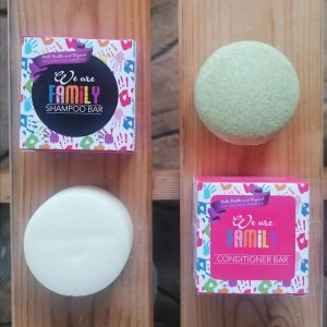 We Are Family Solid Shampoo Bar