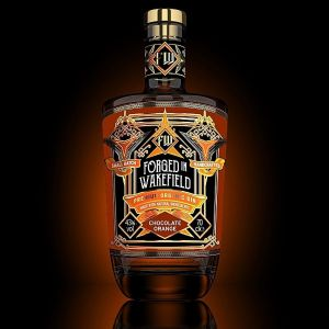 Forged in Wakefield Gin - Chocolate & Orange 70cl, 43% ABV