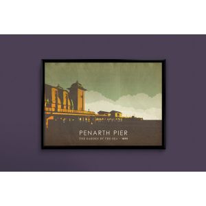 Penarth Pier graphic print