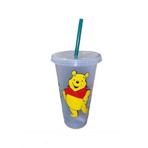 Starbucks Reusable Cold Cup UK Winnie The Poo Inspired
