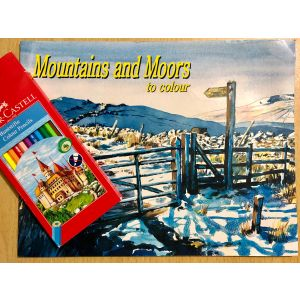 Mountains and Moors Colouring Pack