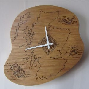 small Scotland clock