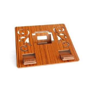 Wooden Foldable Laptop Stand Portable Tabletop Stand Adjustable Laptop Bed Tray