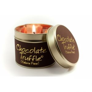 Chocolate Truffle Lily Flame Candle