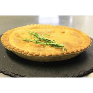 small lamb and mint pie