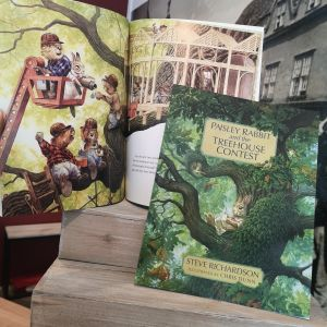 Paisley Rabbit and the Treehouse Contest (Paperback)