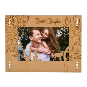 Wooden Photo Frame Modern Style 6.5 in X 9 in