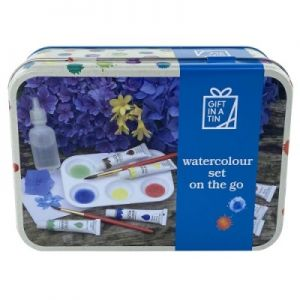 Watercolour Set on the Go (Gift in a Tin)