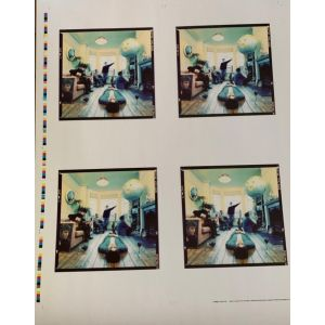 Limited edition oasis proof artwork poster