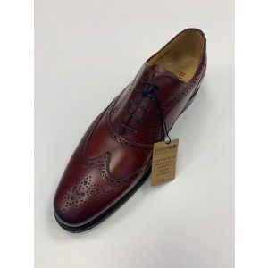 Turning from Barker Shoes - Cherry Calf