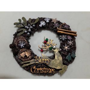 Christmas Wreath - Saturday, 13th of November 2021, Starts: 10:00 am Ends: 1:00 pm