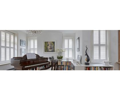 Made to measure shutters (prices vary) price stated is to book an appointment and will be refunded when the appointment is complete