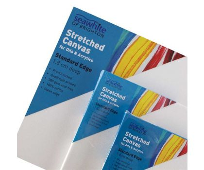 Seawhite Stretched Canvas, 1.8cm Standard