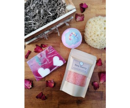 The Soap Shack - Violet Gift Crate