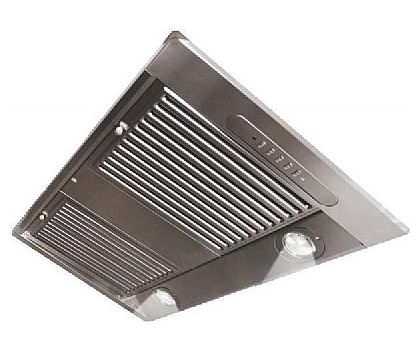 Falcon 83510 Built-In Canopy Hood extractor in Stainless Steel