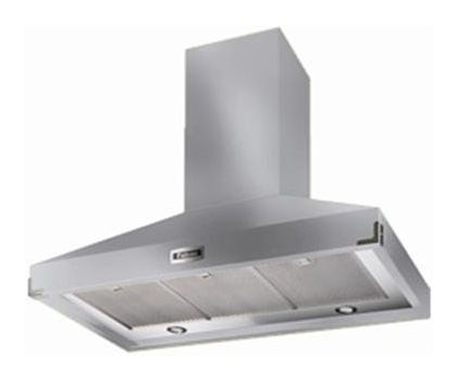Falcon 90880 1092 Super Extract Chimney Hood in Stainless Steel with Chrome Trim