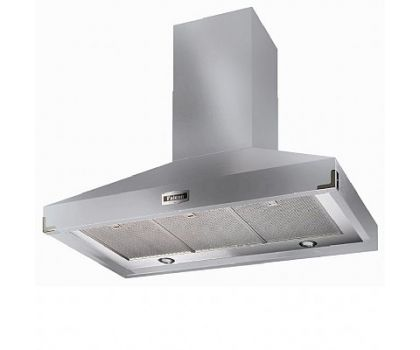 Falcon 90750 900 Super Extract Chimney Hood in Stainless Steel with Chrome Trim