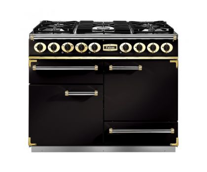 69200 Falcon 1092 Deluxe DF/NG Black Brass Trim - F1092DXDFBL/BG