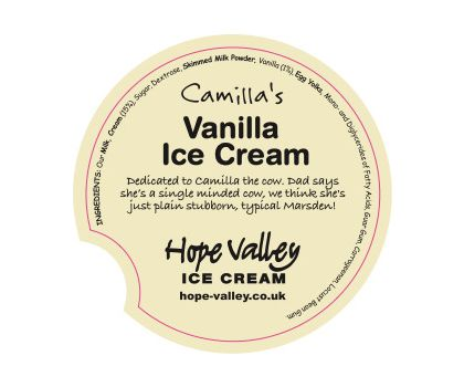 Camilla's Vanilla Ice Cream 500ml
