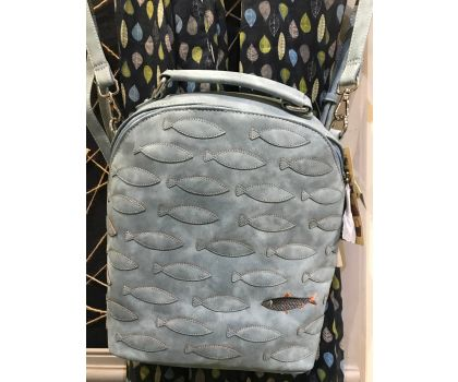Noi Noi backpack with fish design