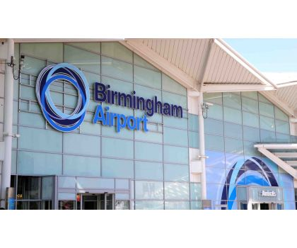 Rugby to Birmingham Airport