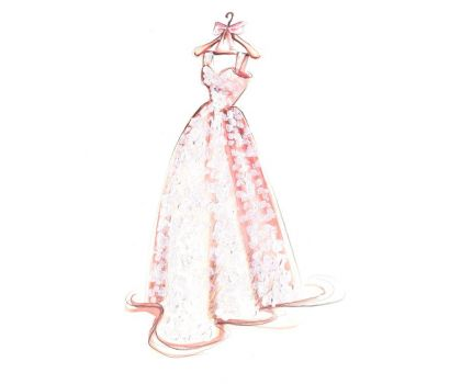 Crystal Wedding Dress Cleaning Package