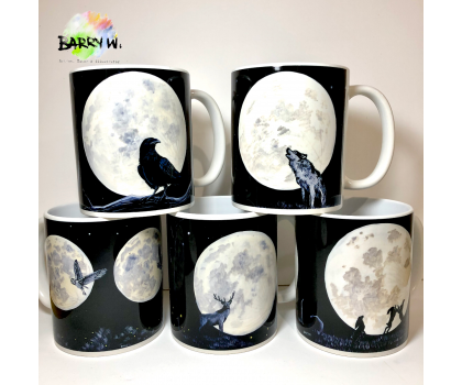 Fine Art Mugs featuring paintings by Barry Whitehouse