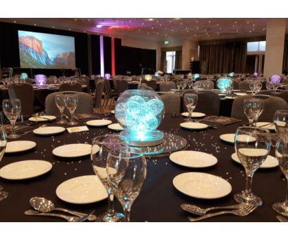Bubble ball bowls centrepieces - prices from £25