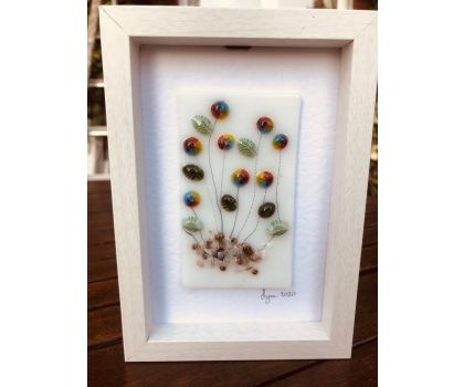 Murine glass flower pictures