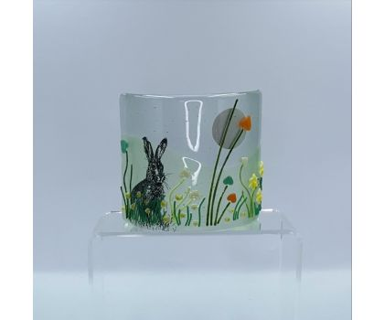 Fused Glass Hare Curve