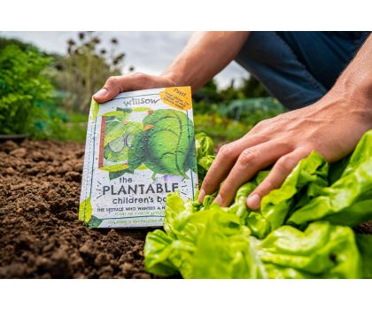 Willsow Plantable Children's Book - The Lettuce Who Wanted a New Look