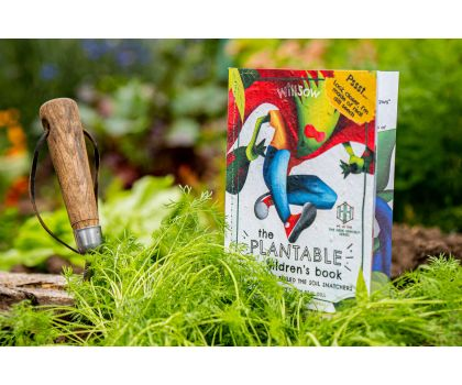 Willsow Plantable Children's Book - The Dill Who Foiled The Soil Snatchers