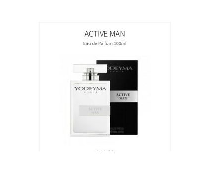 Active Man Aftershave 100ml