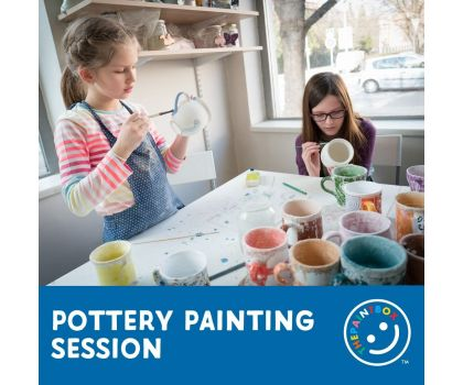 Pottery Painting Session