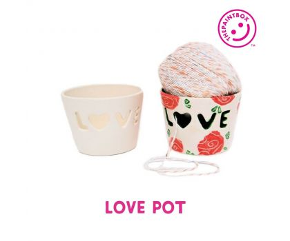 Paint your own Love Pot