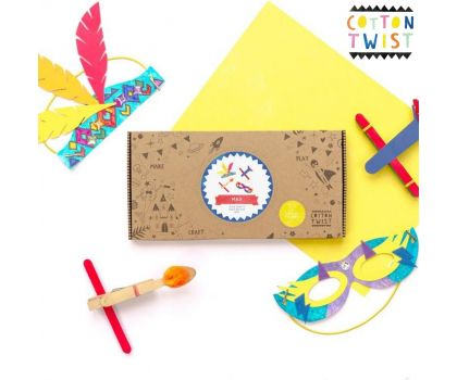 Cotton Twist Adventurers Craft Kit Activity Box