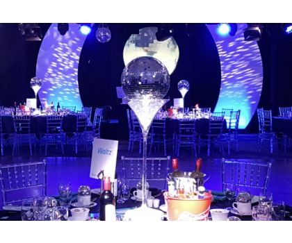 Mirrorball Centrepieces - Prices from £35